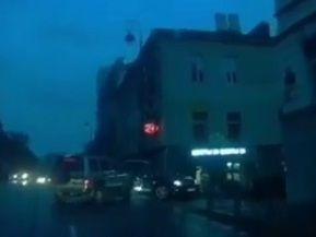 Момент жёсткого ДТП в центре Владивостока попал на видео