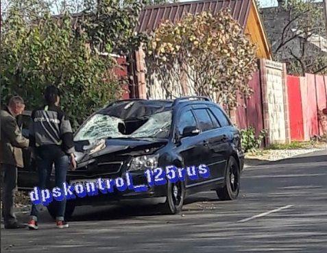 В жутком ДТП во Владивостоке сбили человека