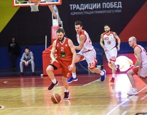 Баскетболисты «Спартака-Приморье» проиграли в первом матче сезона