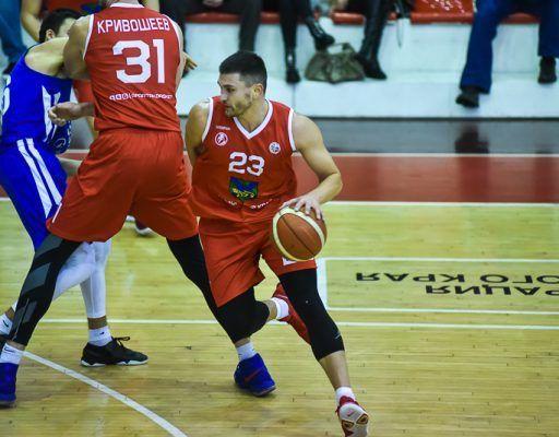 Баскетболисты, Спартак-Приморье
