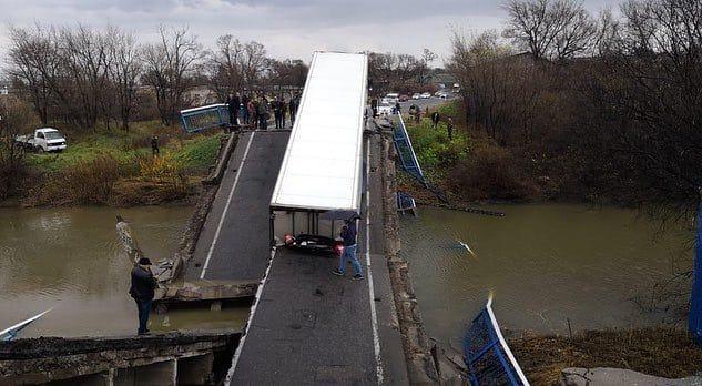 К концу 2023 года в Приморье построят мост через реку Осиновка — вместо печально известного