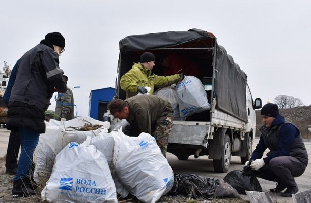 «Вода России»: в 2018 году в Приморье очистили от мусора берега 91 водного объекта