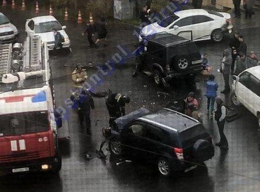 Массовое ДТП: во Владивостоке автомобилистка на огромной скорости выехала на перекрёсток
