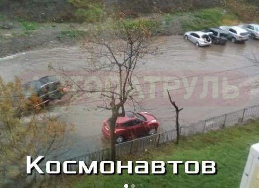 Несмотря на потраченные миллионы, во Владивостоке вновь появилась «космическая» лужа-море