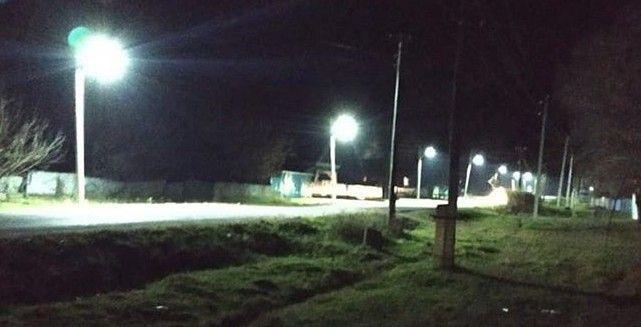 После обрушения моста и гибели людей в Приморье появилось уличное освещение