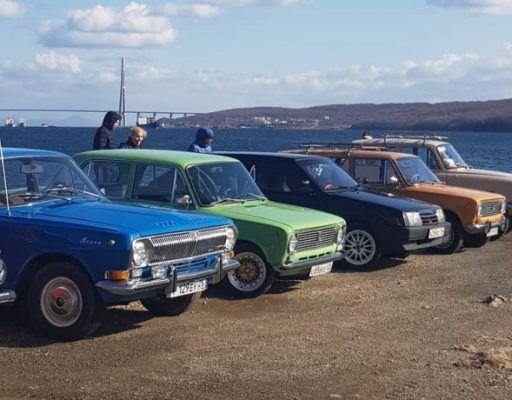 Множество диковинных машин удивило жителей Владивостока