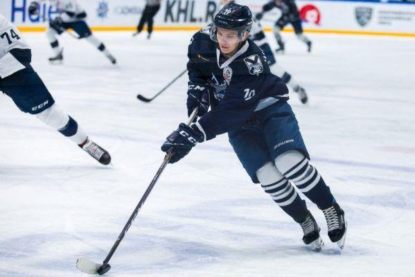 Хоккеисты «Тайфуна» проиграли «Чайке»