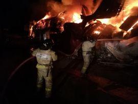Страшный пожар во Владивостоке тушили несколько часов во Владивостоке