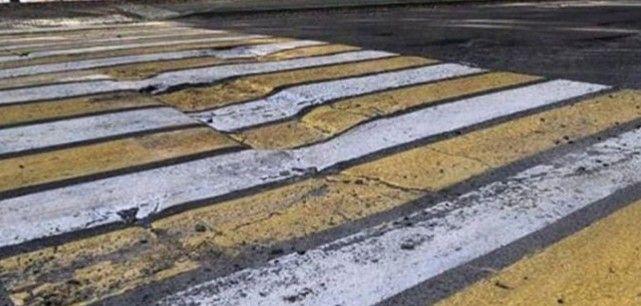 «Формат 7D»: во Владивостоке дорожную разметку нанесли прямо на ямы