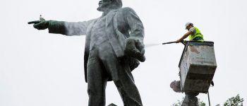 Памятник Ленину. Фото: Анастасия Котлярова, пресс-служба администрации Владивостока