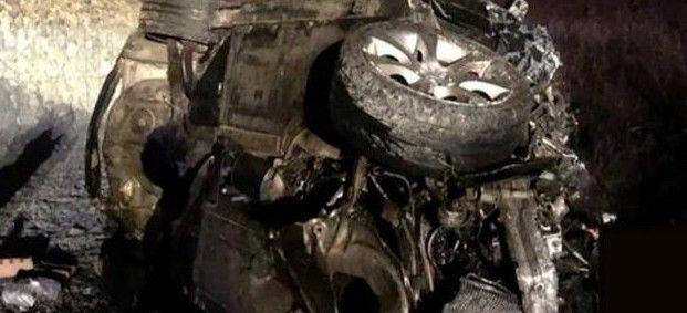 В страшном ДТП погиб водитель BMW в Приморье