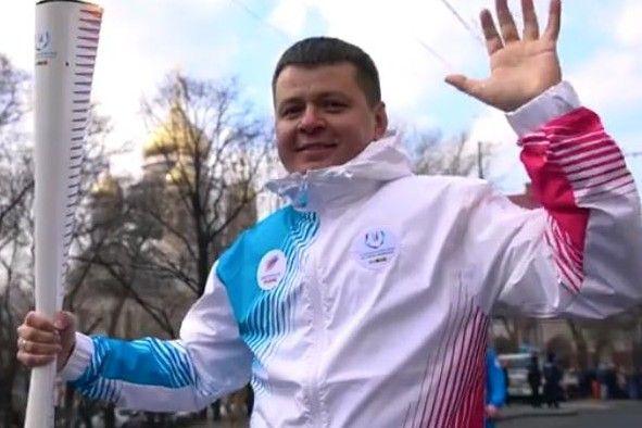 Эстафета огня Зимней универсиады-2019 во Владивостоке: как это было