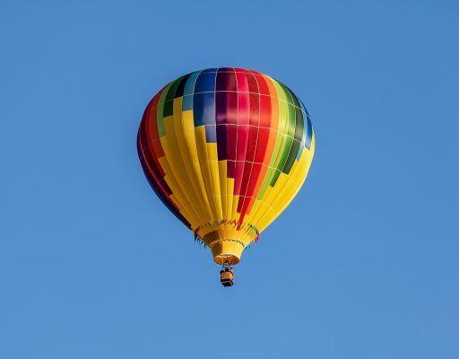 В Приморье воздушный шар приземлили на лесную дорогу