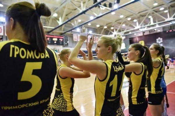 Волейболистки «Приморочки» победили соперниц из Волгодонска