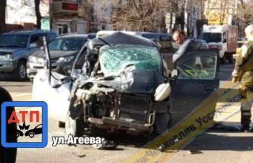 Смертельное ДТП с армейским грузовиком в Приморье: погибла женщина