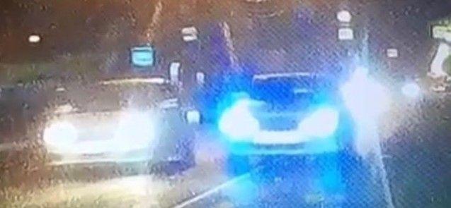 В Приморье лихач на огромной скорости чуть не врезался в другую машину