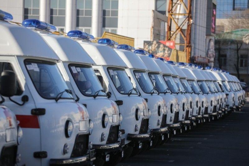 Скорая помощь, карета скорой помощи,. Фото:  Игорь Новиков (администрация Приморского края)