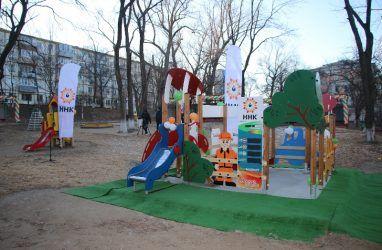 Современный игровой комплекс открыли в одном из детских садов Владивостока