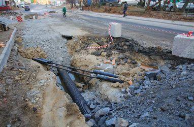 Во Владивостоке ликвидировали течь, которая могла сделать одну из дорог опасной для жизни