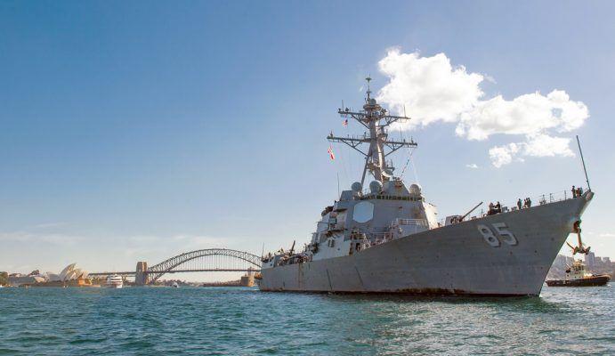 Стало известно, зачем американский эсминец прошёл вблизи Владивостока