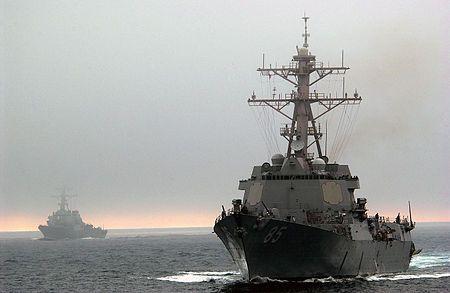 Обзор: эсминец ВМС США, который прошёл вблизи Владивостока, вооружён крылатыми ракетами «Томагавк»