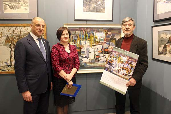 Календарь «Живопись Приморья» на 2019 год представили во Владивостоке