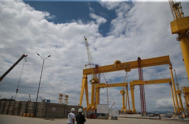 На устройство и содержание дорог для судоверфи «Звезда» выделили 414 млн рублей