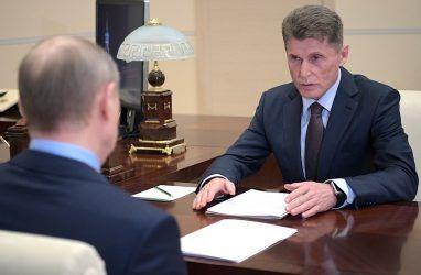 Путин встретится с Кожемяко на следующей неделе