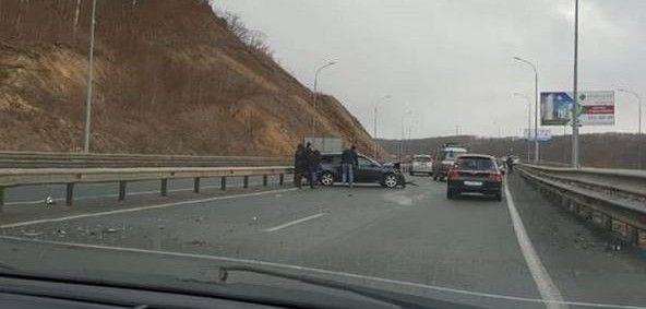 На трассе «Седанка — Патрокл» произошло массовое ДТП