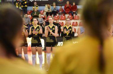 Волейболистки «Приморочки» выиграли в Тюмени первый матч