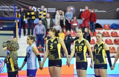 Волейболистки «Приморочки» начали серию за третье место с поражения