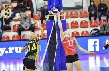 Волейболистки «Приморочки» вновь выиграли у «Импульса»