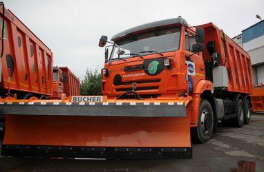 В Приморье купили 32 машины для зимнего содержания дорог