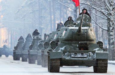 Через Владивосток в Россию доставили 30 танков Т-34 из Лаоса