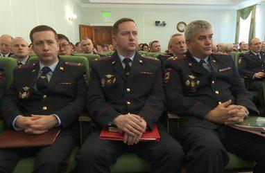 В Приморье в 2018 году число зарегистрированных преступлений снизилось на 10,4%