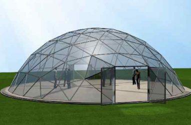 Какова цена аренды сферических тентов-шатров