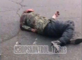 Кошмарное ДТП во Владивостоке: у пешехода чуть не оторвало ногу