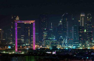 Архитектурная подсветка в Дубае удивила мир