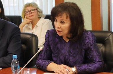Депутаты поддержали кандидатуру Веры Щербины на должность первого вице-губернатора Приморья