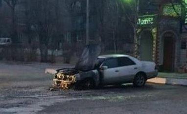 Приморец объявил вознаграждение за информацию о поджигателях своего авто