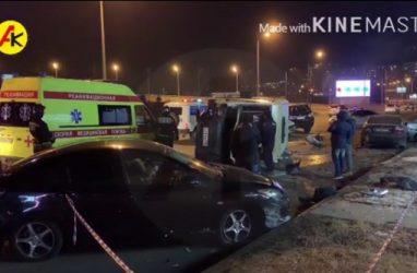 Водитель маршрутки лишился руки в результате жуткого ДТП во Владивостоке