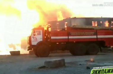 Жуткий пожар в Приморье: полностью сгорел жилой дом