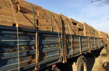 Контрабанду пиломатериалов почти на 700 млн рублей выявили в Приморье