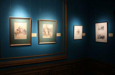 Выставка «На сопках Маньчжурии. Русско-японская война глазами художника» открылась во Владивостоке