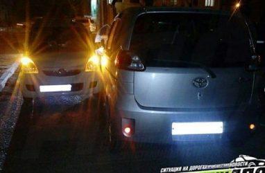 Пьяная автомобилистка попала в ДТП в Приморье