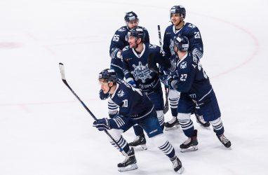 Хоккеисты «Адмирала» выиграли у «Салавата Юлаева»