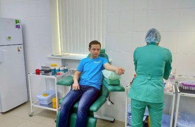 Жителям Владивостока предложили стать донорами костного мозга