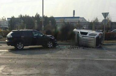 Невероятным кульбитом обернулось ДТП в Приморье
