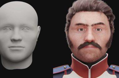 Учёные смоделировали лицо погибшего солдата Великой Армии Наполеона