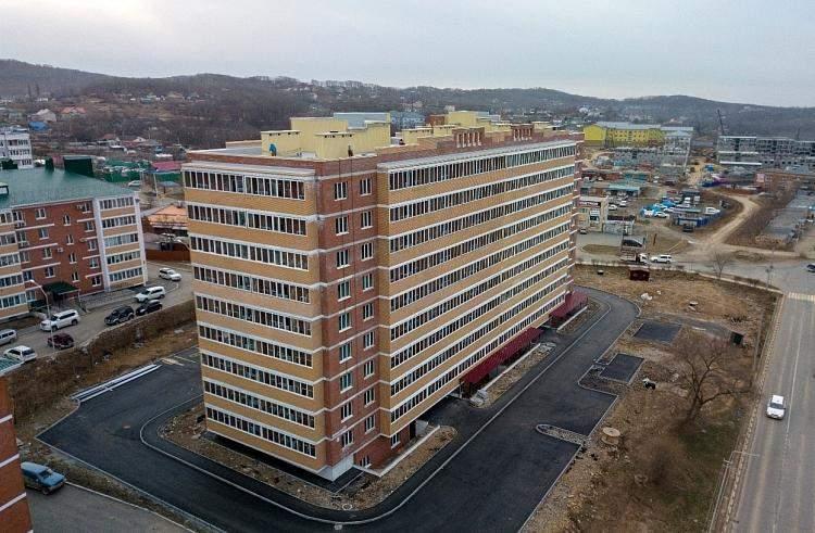 Жилой дом, резидент ТОР, фото - АО «Корпорация развития Дальнего Востока»